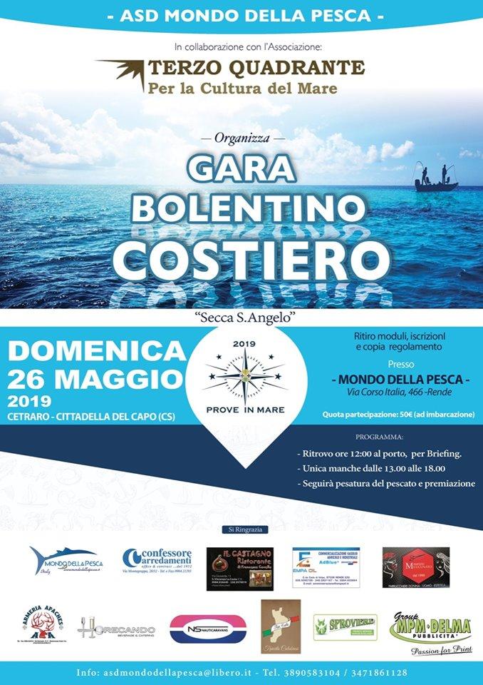 Gara di Bolentino costiero Domenica 26 Maggio 2019