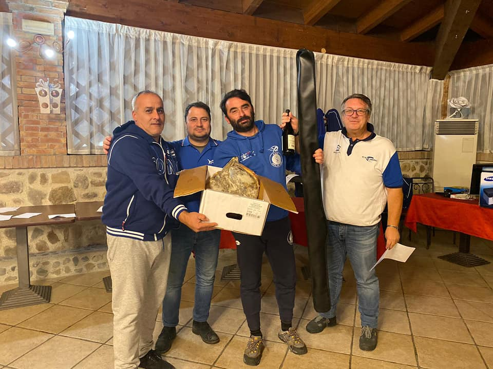 Premiazione Gara 4° Trofeo Surfcasting 2 Canne – Effettuata il 14 Dicembre 2019